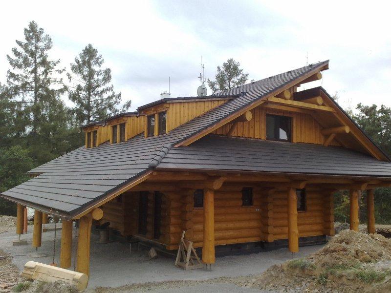 Dřevostavba - sádrokartony